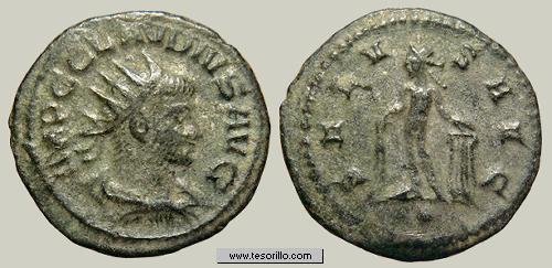 Antoniniano de Claudio II (APOLLINI CONS / H) ClaudioII_m18