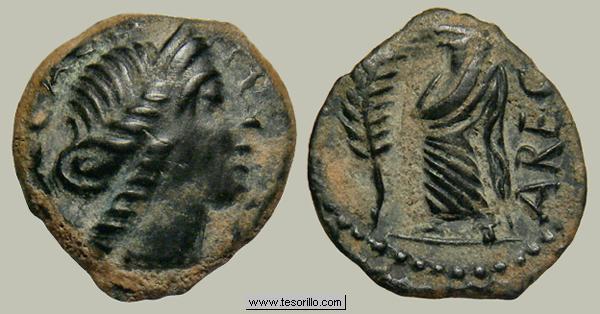 Bronce de los Volcae Arecomici (Galia) Volcae1