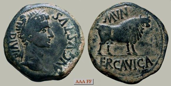 Resultado de imagen de augusto y el toro monedas