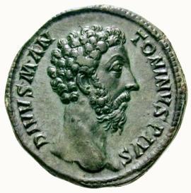 Αποτέλεσμα εικόνας για moneda romana marco aurelio