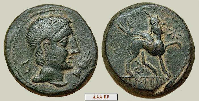 Resultado de imagen de moneda ibera de castulo